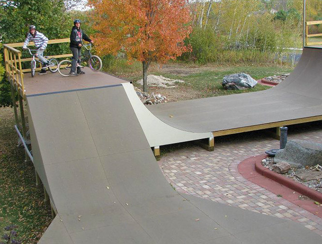 Skatelite Pro R50 Brown WI Ramp