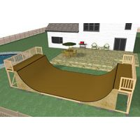 6' halfpipe w/ extension